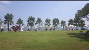 Club Med Kemer Palmiye uitzicht