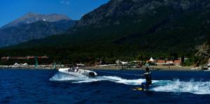 Club Med Kemer Palmiye water skieen